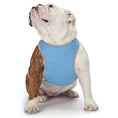 Cool Pup Reflective Harness for Dogs, Large, Light Blue