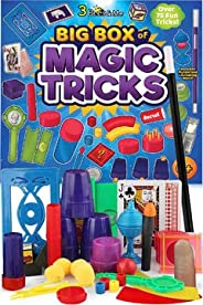 3 Bees & Me Deluxe Magic Kit Set with Toy Wand & 75 Magic Tricks for Beginners - Best Age 6