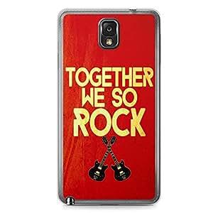 Together Samsung Note 3 Transparent Edge Case