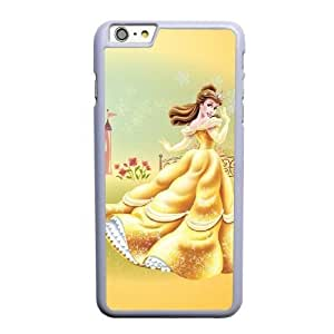 Generic Fashion Hard Back Case Cover Fit for iPhone 6 6S plus 5.5 inch Cell Phone Case white Beauty and the Beast PKL-6031565
