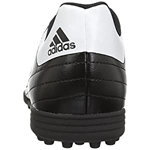 Adidas Men's Goletto VI TF Soccer Shoe, Black/White/Solar Green, 10 M US