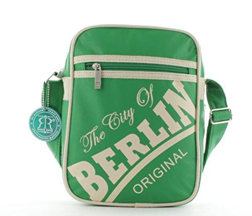 Piccola Borsa Retrò Robin Ruth In Berlin Verde / Beige (dimensioni: Lxhxt 20x25x7cm)