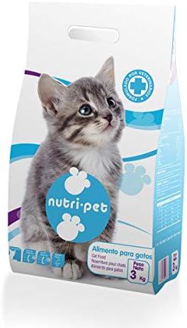 Nutri-Pet Pienso para Gatos 670 g: Amazon.es: Productos para mascotas