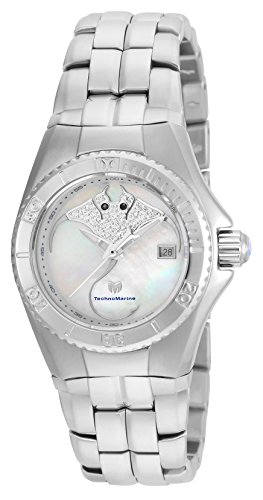 Technomarine Women's 'Cruise' Quartz Stainless Steel Casual Watch, Color:Silver-Toned (Model: TM-115188)