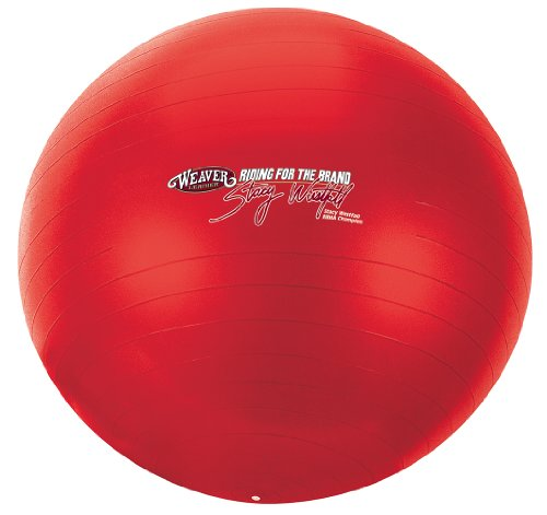 Weaver Leather Stacy Westfall Activity Ball, Large, Red by Weaver Leather (Image #2)
