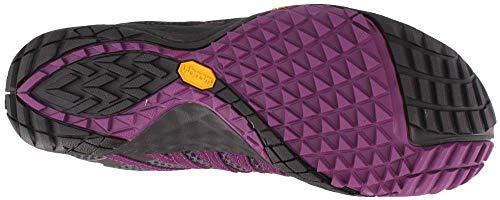Shield Trail Handschuhe Laufschuhe Merrell Schwarz Violett 4 Trail AW18 Women's q7gxtwH