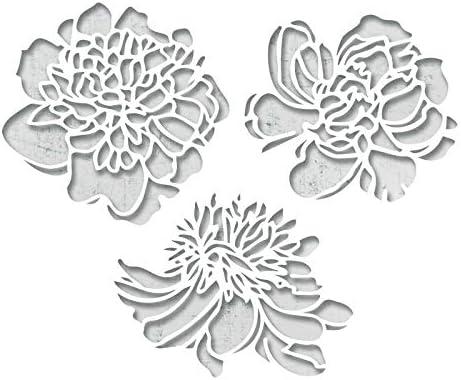 Taille Unique Sizzix Fleurs de d/écoupe Matrice Multicolore