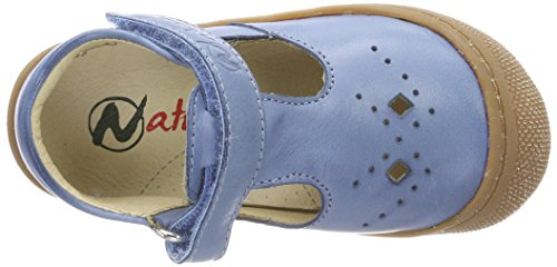 Naturino Baby Jungen 4693 Lauflernschuhe, Blau (Jeans), 25 EU