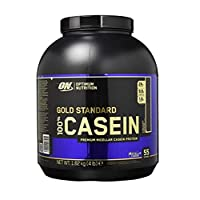 Optimum Nutrition Gold Standard Casein Protein Powder with Glutamine and Amino Acids. Protein Shake by ON - Chocolate Supreme, 53 Servings, 1.82kg