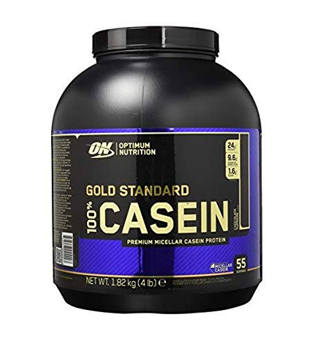 Optimum Nutrition Gold Standard Casein Protein Powder with Glutamine and Amino Acids, Protein Shake by ON - Chocolate Supreme, 53 Servings, 1.82 kg