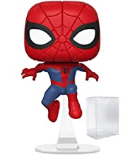 Funko Pop! Animated Spider-Man Movie: Into The Spider-Verse - Peter Parker Spider-Man Vinyl Figure (Includes Pop Box Protector Case)