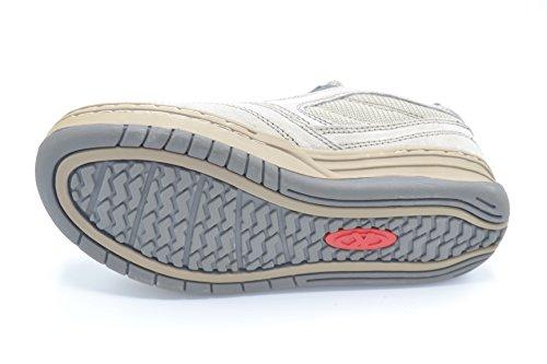 Kelme Buxton - Zapatilla deportiva de piel sin cordones para niño. Talla 37
