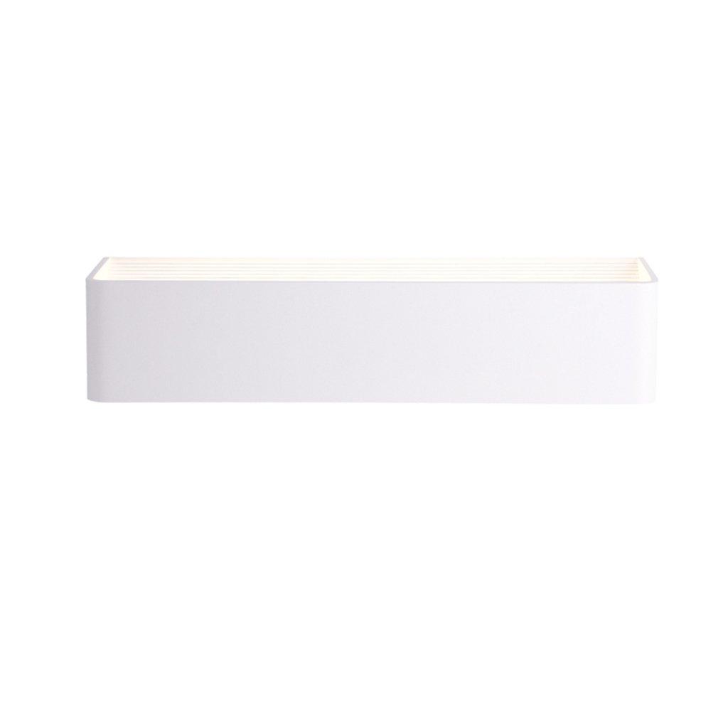 Wandleuchte lampe Nachttisch Wandleuchte LED Schlafzimmer Kopfteil Wandleuchte Nordic Modern Rechteckige Wandleuchte (Größe   10  8cm)