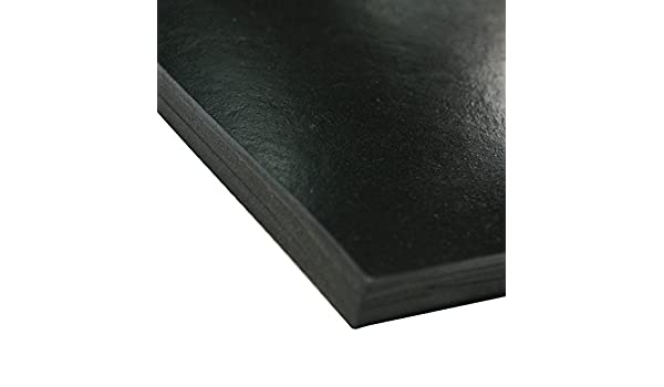 Black Industrial 30-005-125-036-036 Smooth Finish 36 Length 0.125 Thickness 36 Width 36 Length Rubber-Call No Backing 36 Width 0.125 Thickness Neoprene Sheet 50A Durometer