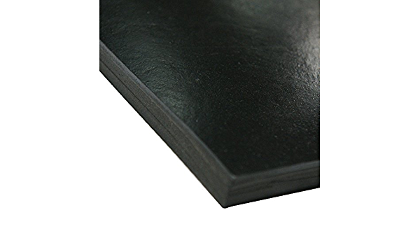 Smooth Finish 1//2 Thickness 2 Width Black 50A Durometer No Backing 33-005-500-002-036 General Purpose Rubber 36 Length