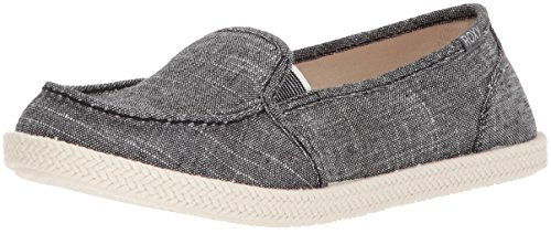 Roxy Women's Lido Rope Slip On Shoe Sneaker