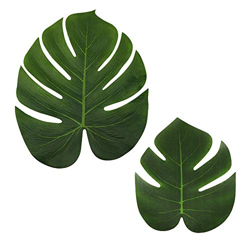 LJDJ Tropical Leaves Palm - Set of 36