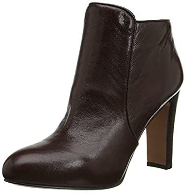 Amazon.com | Nine West Women's Gidran Leather Lace up Ankle Boot ...