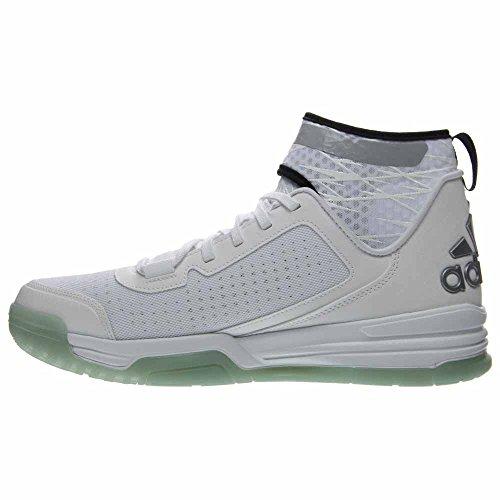 adidas Herren Dual Threat BB Basketballschuhe Weiß