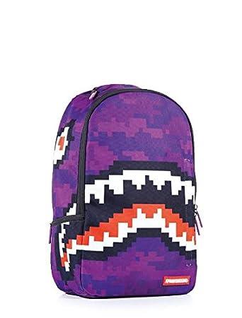 4db6c949c6 Sprayground Pixel Shark Backpack  Amazon.co.uk  Sports   Outdoors