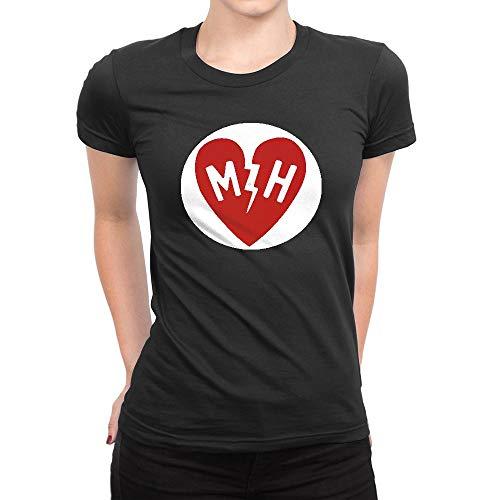 JIANGMUYA Women's Mayer Hawthorne Logo T-Shirt XX-Large