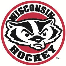 Wisconsin Badgers Ncaa Peel - 3 inch UW Hockey Decal UW University of Wisconsin Badgers Logo WI Removable Wall Sticker Art NCAA Home Room Decor 3 by 3 inches