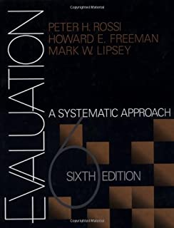 Evaluation a systematic approach 7th edition peter h rossi evaluation a systematic approach fandeluxe Gallery