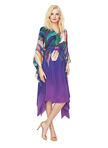 Profile-by-Gottex-Gottex-by-Womens-Macaw-Tropical-Cover-up-Dress-Small