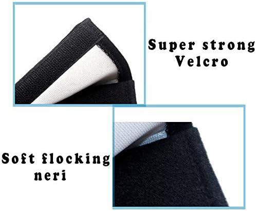 YGTY Cintura Sicurezza 26 Centimetri 2pcs Auto Car Seat Belt Pad Protezione Copertura di Sede per Dacia Duster Logan Sandero 2 Mcv Sandero Emblem