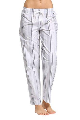 CYZ Women's 100% Cotton Woven Sleep Pajama ()