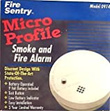 Fire Sentry Model 0914 Battery Operated Smoke and Fire Alarm