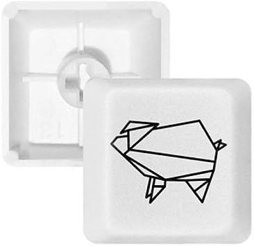 DIYthinker Resumen de Forma geométrica Origami Cerdo PBT ...