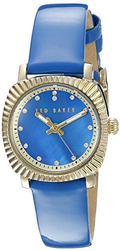 Ted Baker Women's 10025305 Vintage Glam Analog Display Japanese Quartz Blue Watch