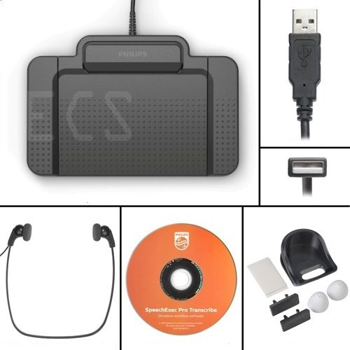 Philips 7277 SpeechExec Pro Transcription Kit by Philips