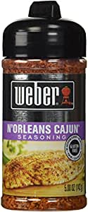 Weber N'Orleans Cajun Seasoning (5 oz) 2 Pack