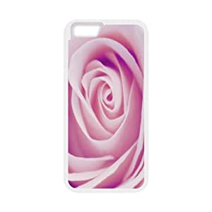 Okaycosama Funny IPhone 6 Cases Delicate Rose for Teen Girls Protective, Iphone 6 Cases for Girls Cheap, [White]