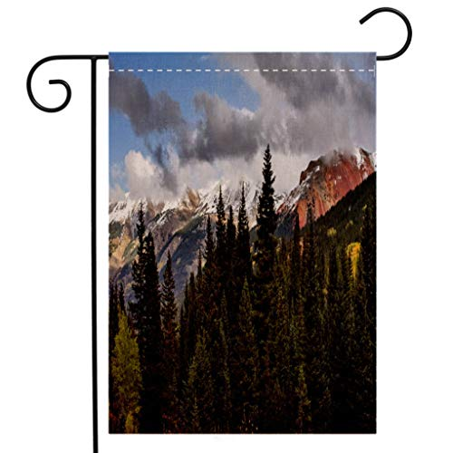 San Juan Racing - BEIVIVI Creative Home Garden Flag The San Juan Mountains in Colorado Welcome House Flag for Patio Lawn Outdoor Home Decor