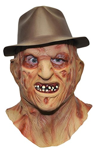 [Deluxe Freddy Mask Costume Accessory] (Freddy Krueger Deluxe Adult Mask)