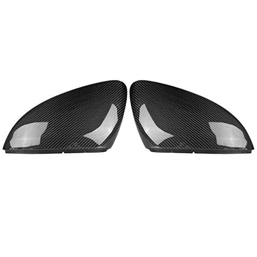 (Keenso Carbon Fiber Mirror Cover for vw golf, Rearview Side Mirror Cap Side Mirror Cover Trim for vw golf mk7/gti/r)