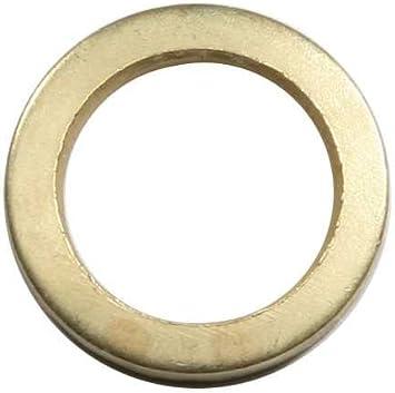 SBS Anillas para bisagras 50 Piezas para Levantar Puertas Que arrastran (diámetro 15,8/10,2 mm)