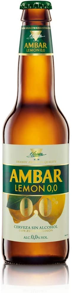 Cerveza Ambar Lemon 0.0 25 cl pack 24