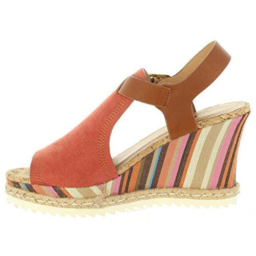 Zapatos De Cuña Urban Para Mujer 391663-b6600 Natural Size-map 36