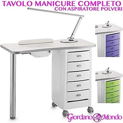 Mesa de manicura Profesional Completo de accesorios: con aspirador ...