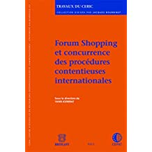 Forum shopping et concurrence