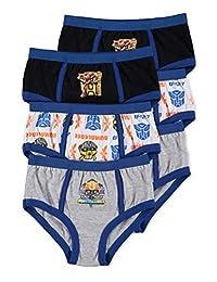 Transformers Boys Underwear | Briefs 6-Pack Size 6