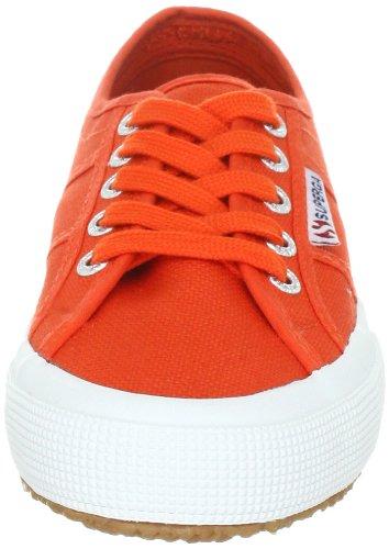 Superga 2750-COTU CLASSIC S000010-1, Unisex - Erwachsene Sneaker, Rot (Tomato C85), EU 42 (UK 8)