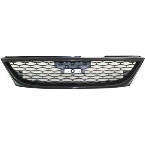 OE Replacement NEW Front Bumper Grille Direct Replacement for 1998-1999 Nissan Sentra (Partslink number -
