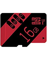 AEGO U3 Micro SD Card Class 10 MicroSDHC Memory Card UHS-III High Speed for Phone/PC/Camera with Free SD Adapter