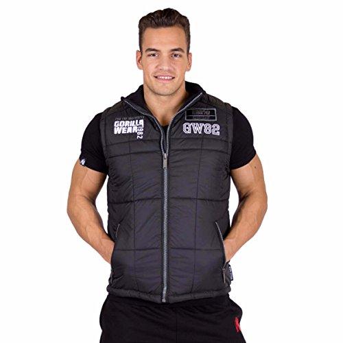 Gorilla Wear Body Warmer GW82 - Sale - Bodybuilding und Fitness Jacke für Herren