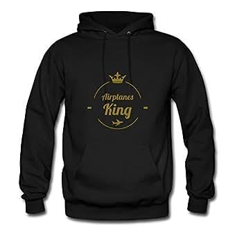 Sarahdiaz Black X-large Styling Aviation Sweatshirts For Women